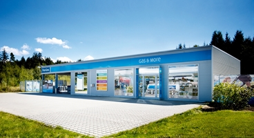 Gas & More Website «Schweiz»: Home