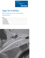 Tips for the practitioner: MIG welding of aluminium materials, thumbnail German