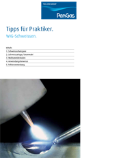 Tips for the practitioner: TIG welding, thumbnail German