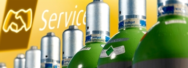 Gas & More Website (Switzerland): Service